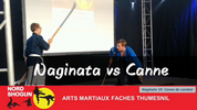 Naginata vs Canne de combat