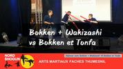 Bokken + Wakizashi vs Bokken et Tonfa